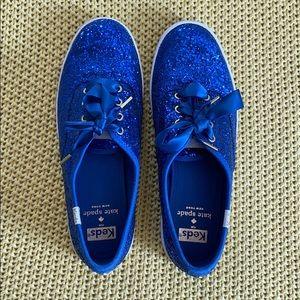 Kate Spade x Keds Sneakers size 6.5US Cobalt Blue